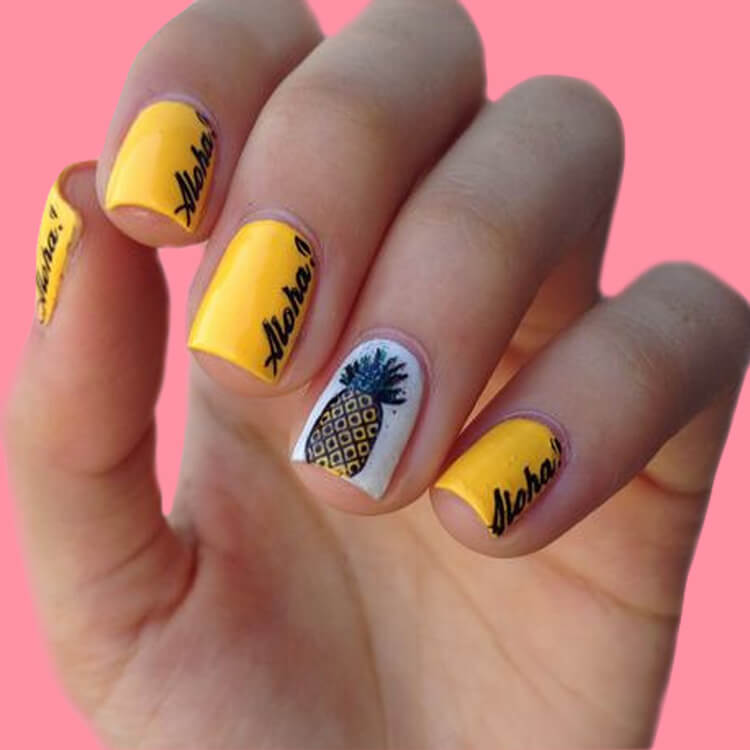 20 Cool Summer Fruit Nail Art Ideas to try 5