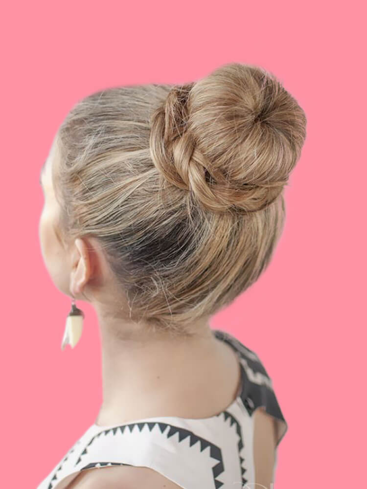 25 Stunning High Bun Up Do Hairstyle Ideas for Prom and Wedding 12