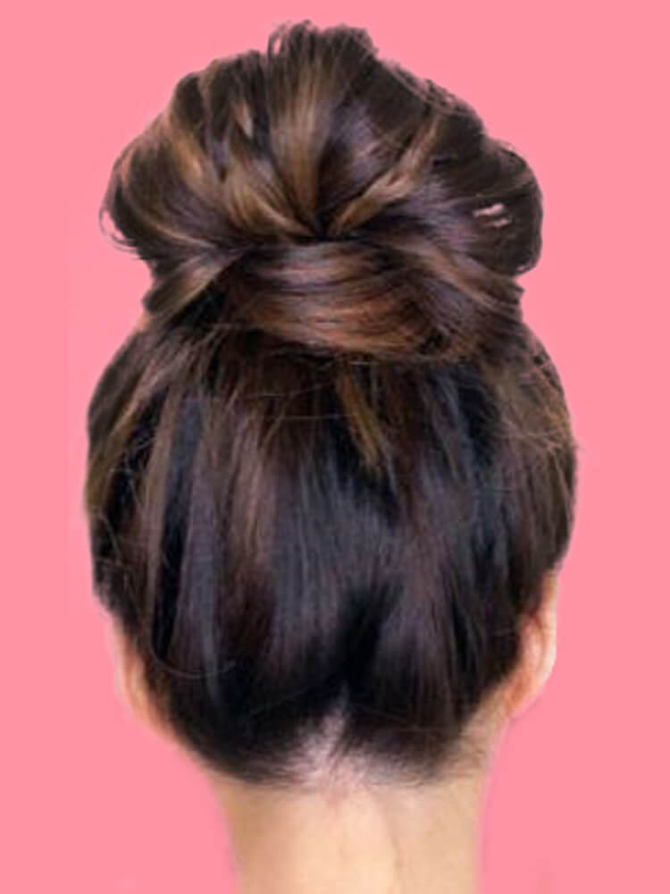 25 Stunning High Bun Up Do Hairstyle Ideas for Prom and Wedding 22