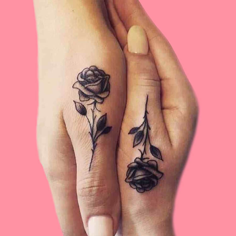 45+ Romantic Rose Tattoo Ideas to try for lady beauty 41