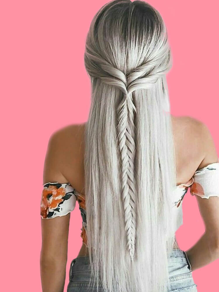 Attractive Dutch Braid Hairstyles Designs to try for ladies 10