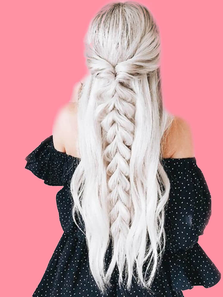 Attractive Dutch Braid Hairstyles Designs to try for ladies 11