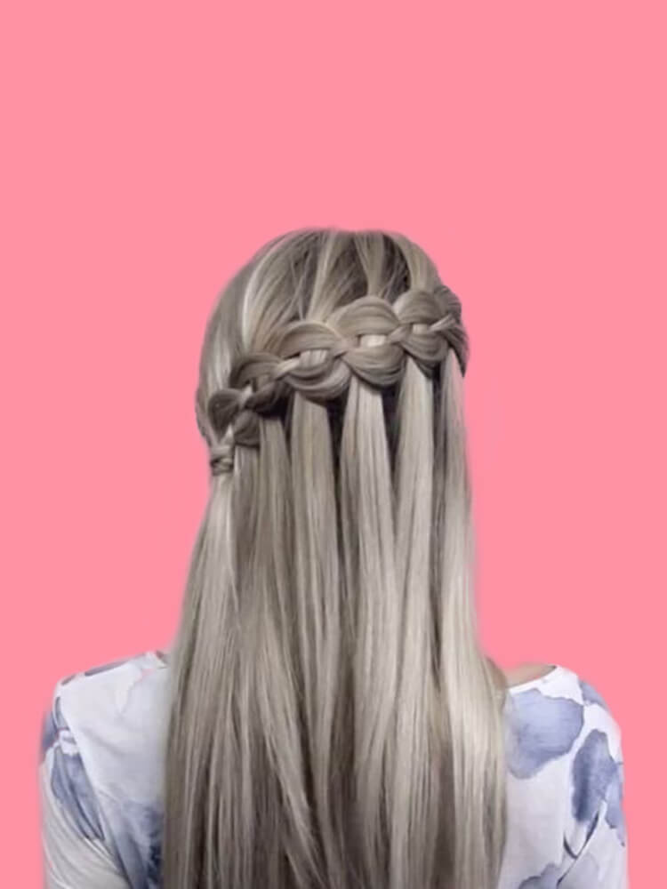 Attractive Dutch Braid Hairstyles Designs to try for ladies 20
