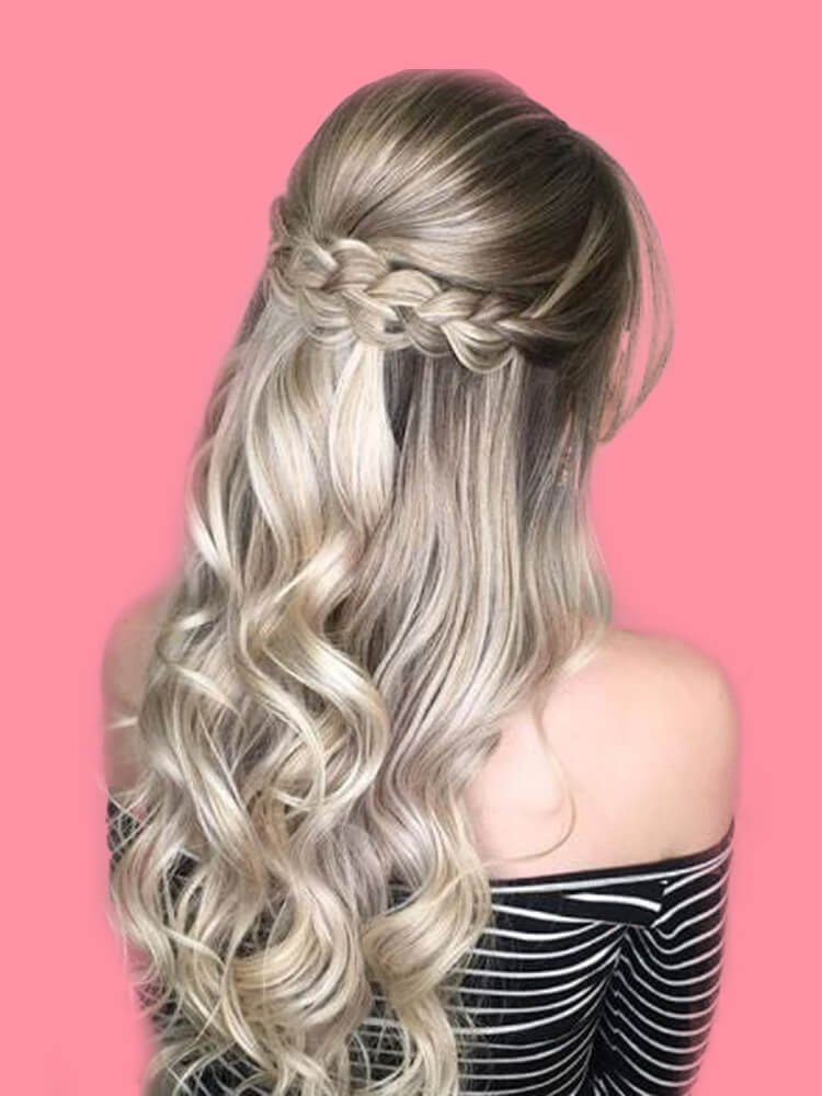 Attractive Dutch Braid Hairstyles Designs to try for ladies 25