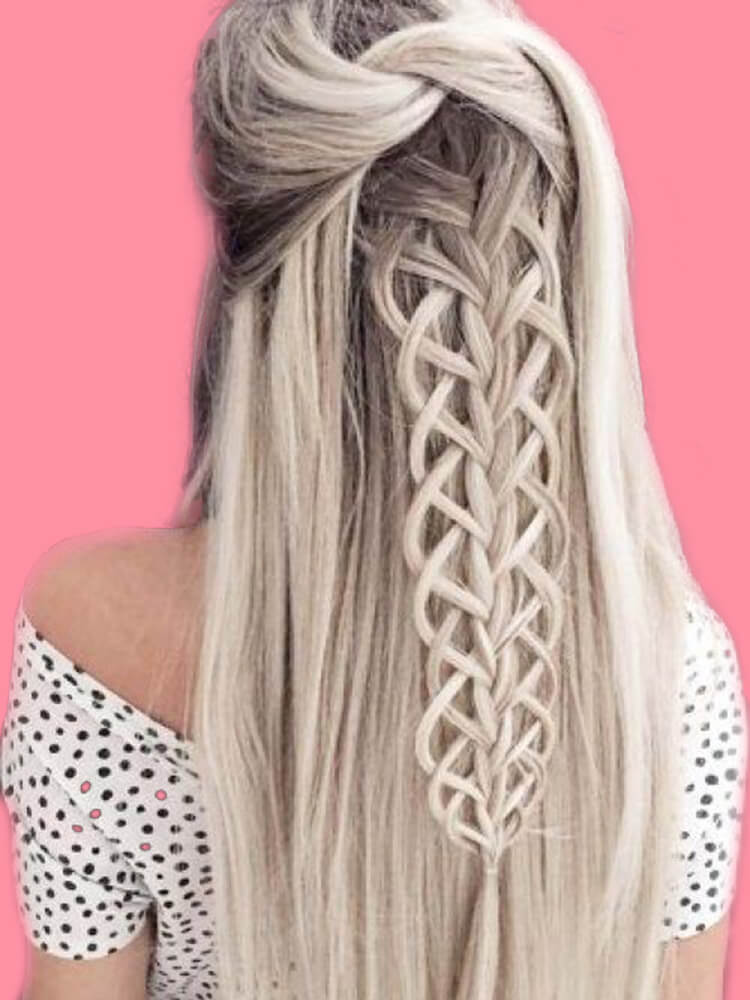 Attractive Dutch Braid Hairstyles Designs to try for ladies 27