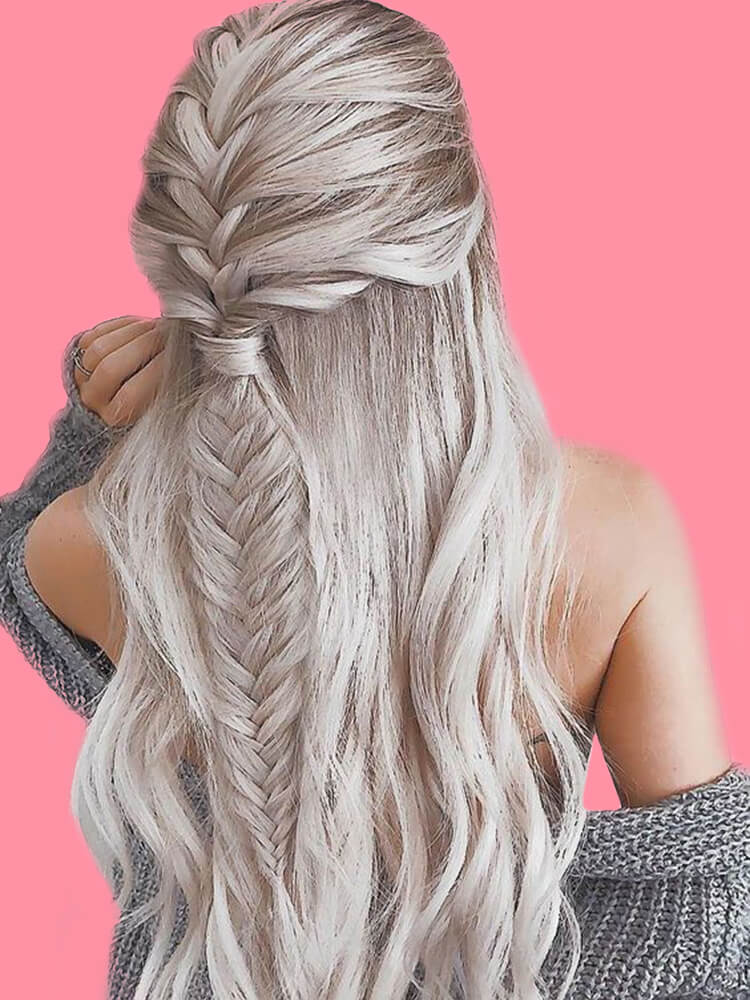 Attractive Dutch Braid Hairstyles Designs to try for ladies 3