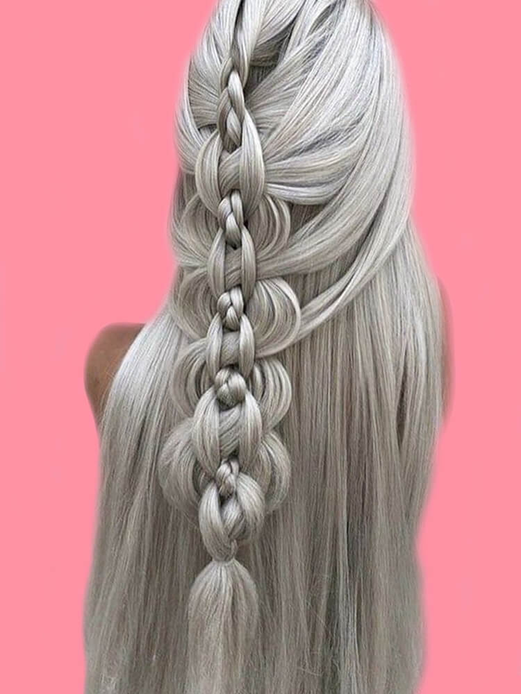 Attractive Dutch Braid Hairstyles Designs to try for ladies 4