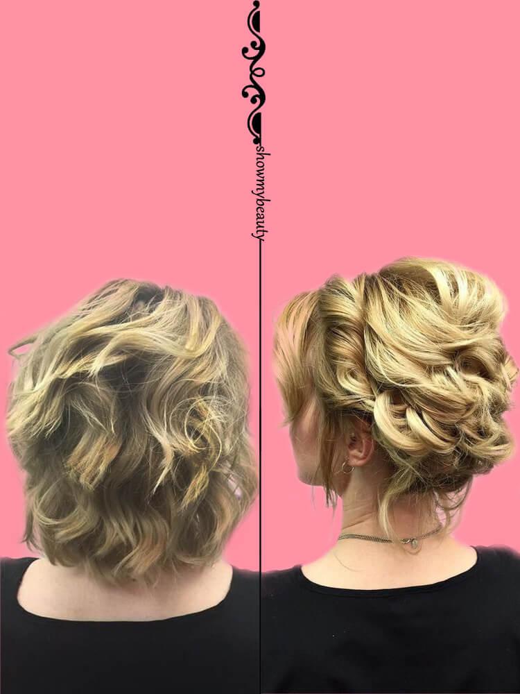 15 Best Wedding Hairstyles for Short Hair 11