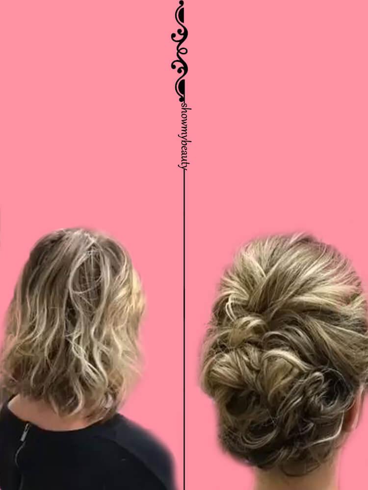 15 Best Wedding Hairstyles for Short Hair 12