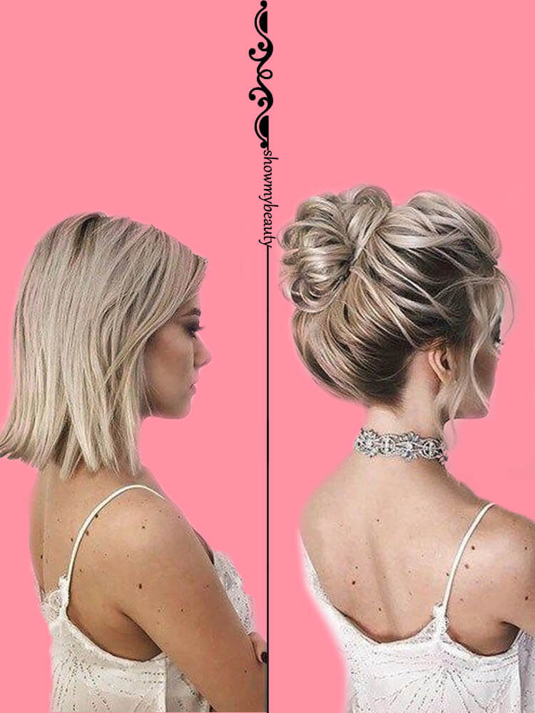 15 Best Wedding Hairstyles for Short Hair 14