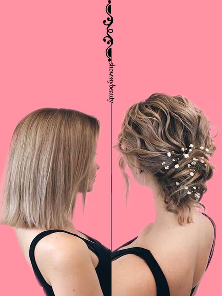 15 Best Wedding Hairstyles for Short Hair 15