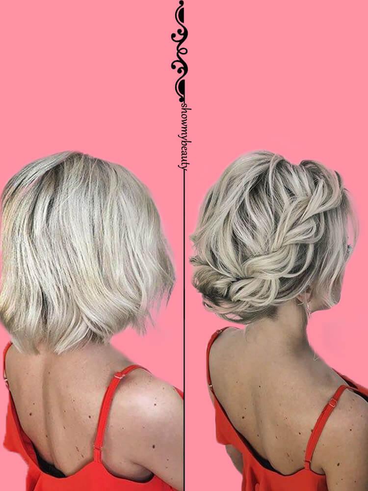 15 Best Wedding Hairstyles for Short Hair 2