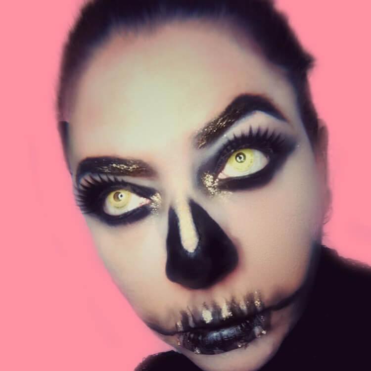 15 Creepy and Freaky VooDoo Doll Halloween Makeup Ideas 11