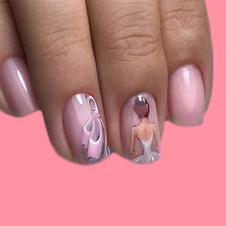20+ Elegant Beauty Nails Acrylic Nail Designs to try 12