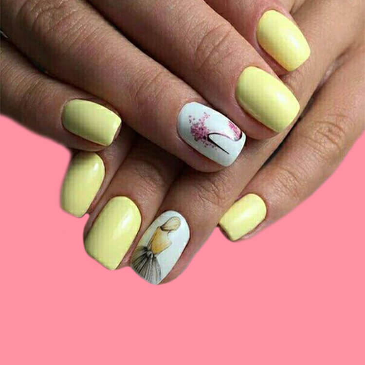 20+ Elegant Beauty Nails Acrylic Nail Designs to try 15
