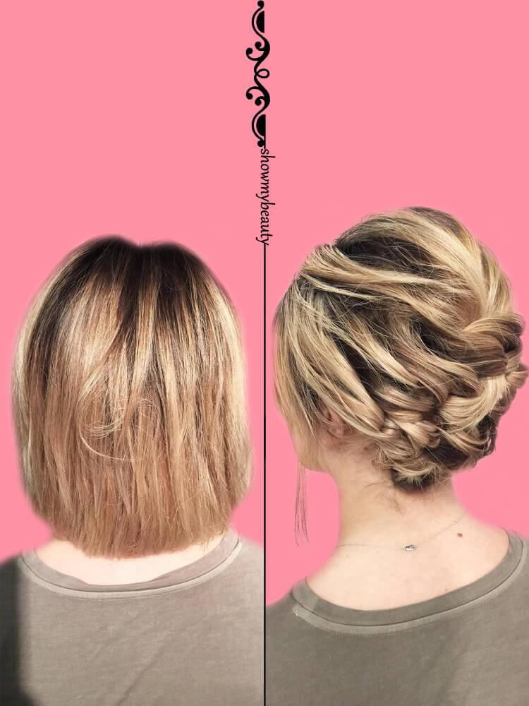15 Best Wedding Hairstyles for Short Hair 3