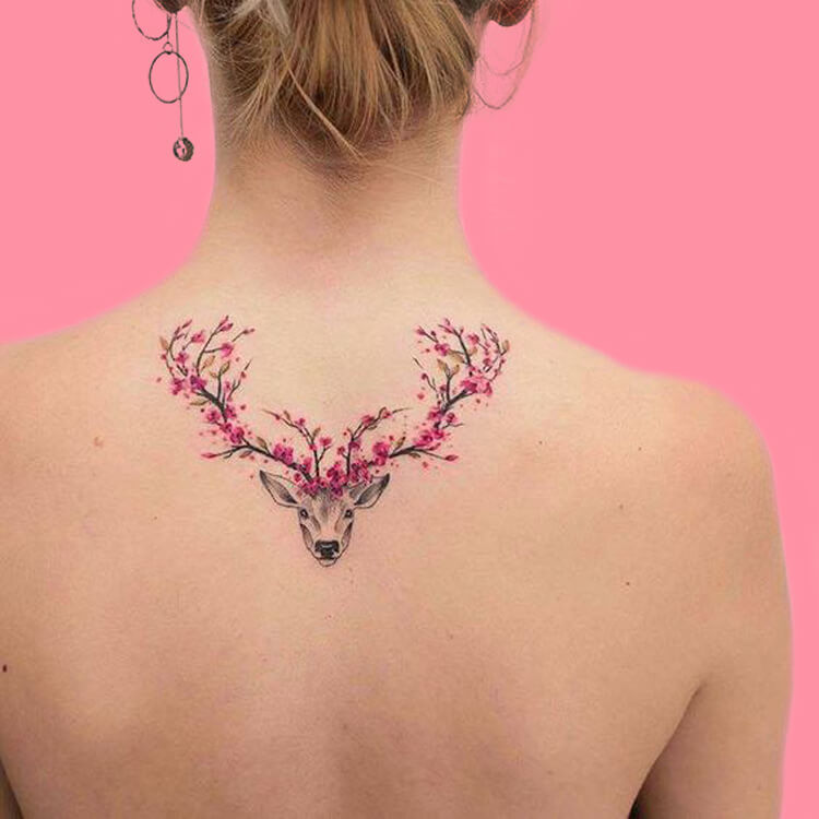 30+ Amazing Animal Back Tattoo designs to try 11