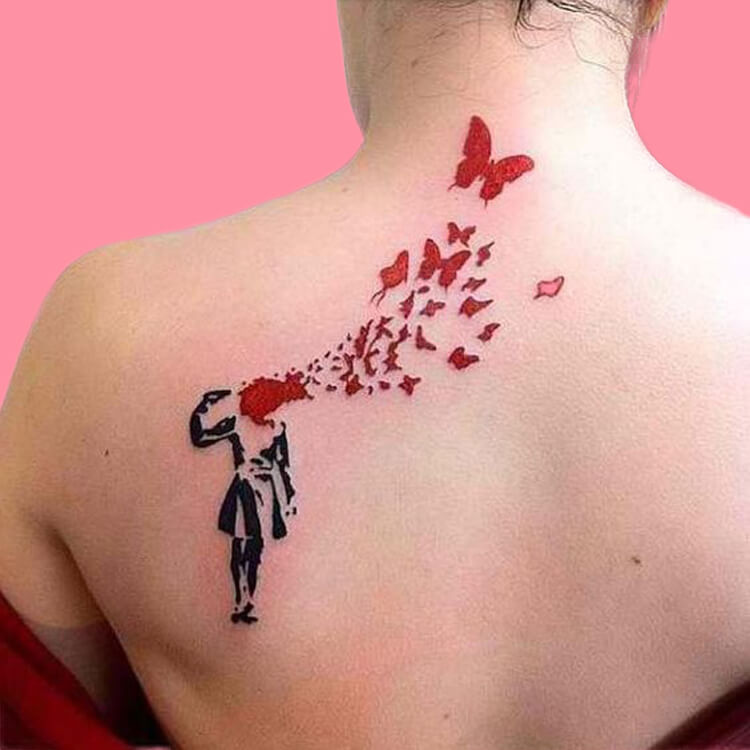30+ Amazing Animal Back Tattoo designs to try 12