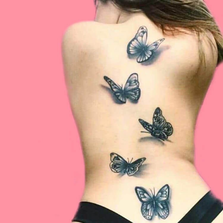 30+ Amazing Animal Back Tattoo designs to try 13