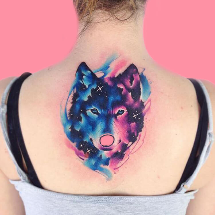30+ Amazing Animal Back Tattoo designs to try 15