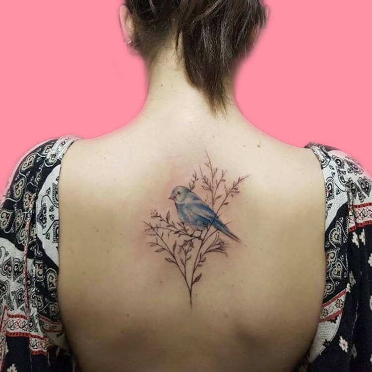 30+ Amazing Animal Back Tattoo designs to try 19