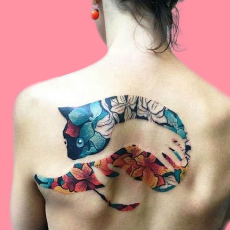 30+ Amazing Animal Back Tattoo designs to try 21