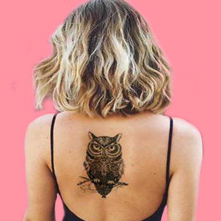 30+ Amazing Animal Back Tattoo designs to try 30