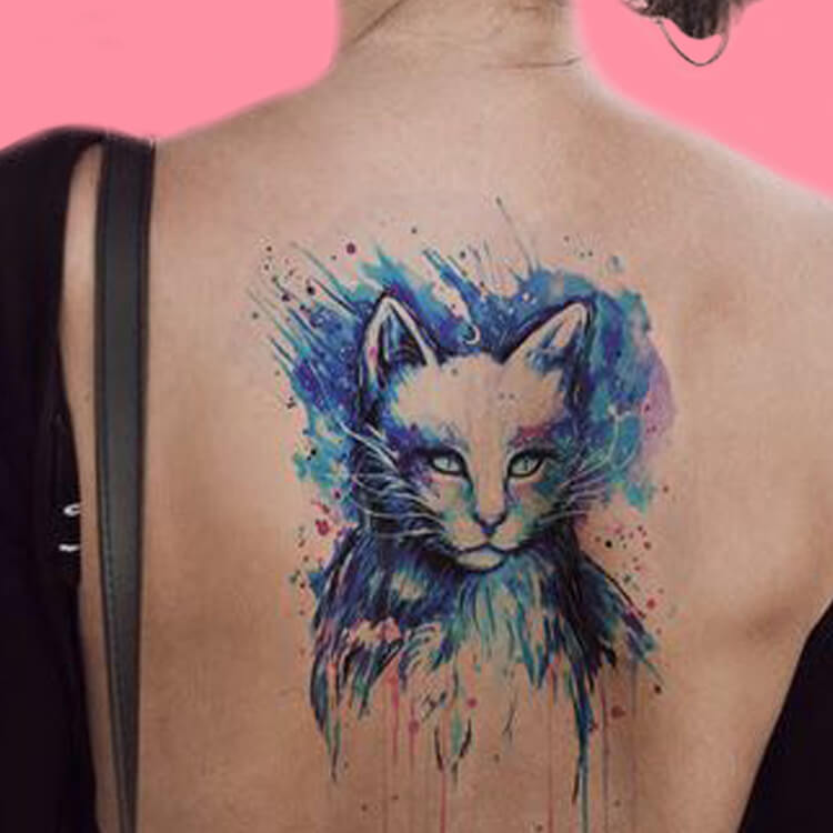 30+ Amazing Animal Back Tattoo designs to try 6