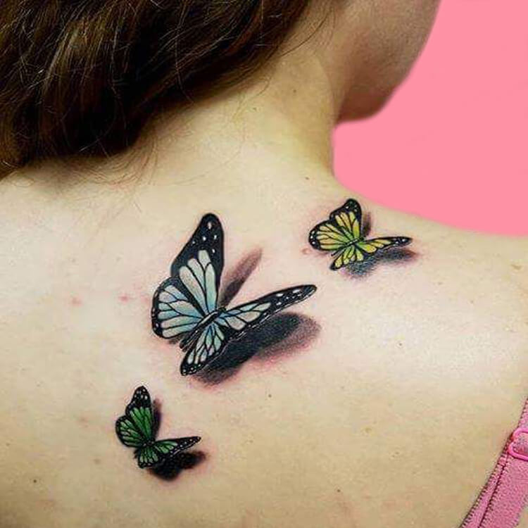 30+ Amazing Animal Back Tattoo designs to try 8