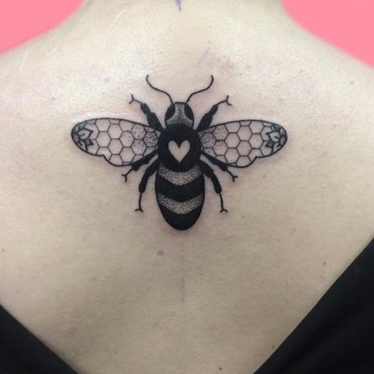 30+ Amazing Animal Back Tattoo designs to try 9