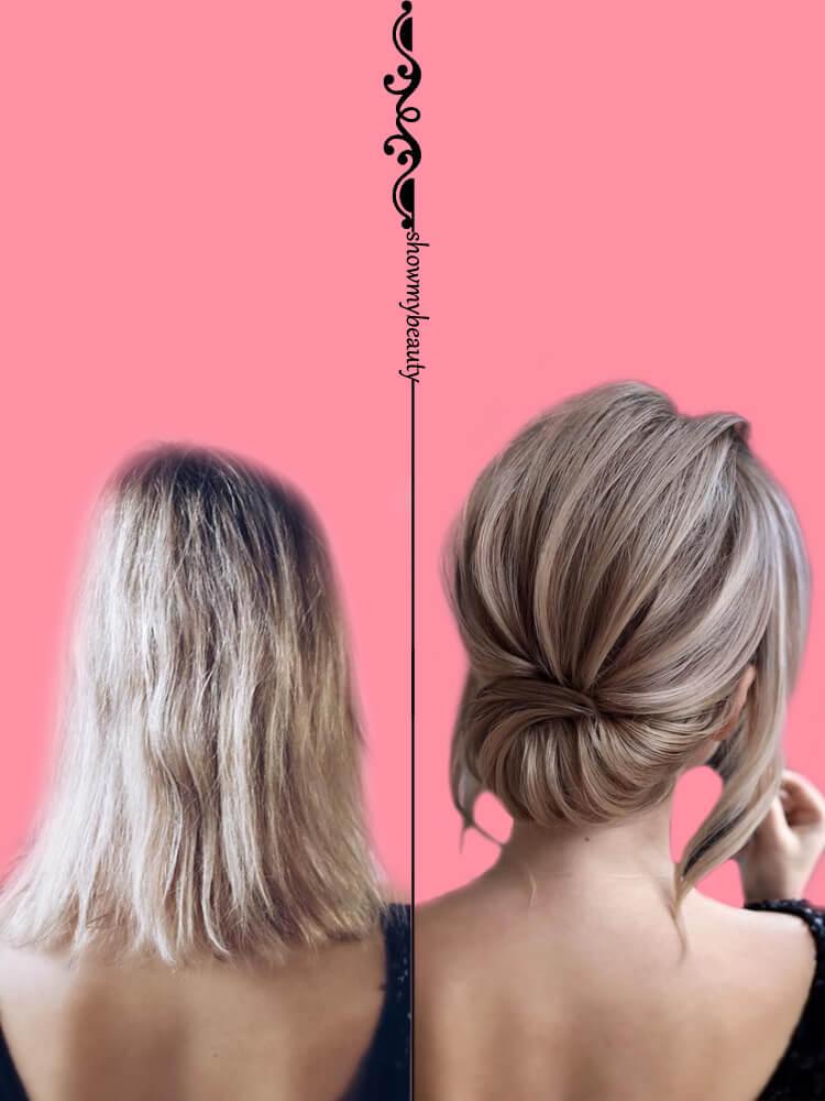 15 Best Wedding Hairstyles for Short Hair 5
