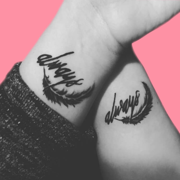 50 Meaningful Matching Couple Tattoo Designs for Lovers to try 16