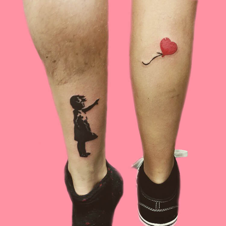 50 Meaningful Matching Couple Tattoo Designs for Lovers to try 25