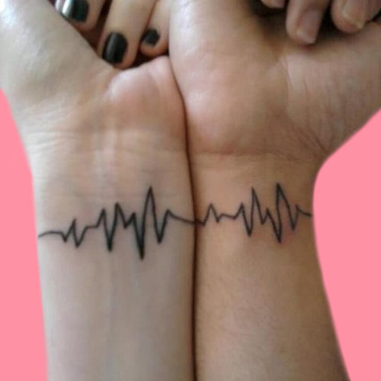50 Meaningful Matching Couple Tattoo Designs for Lovers to try 27