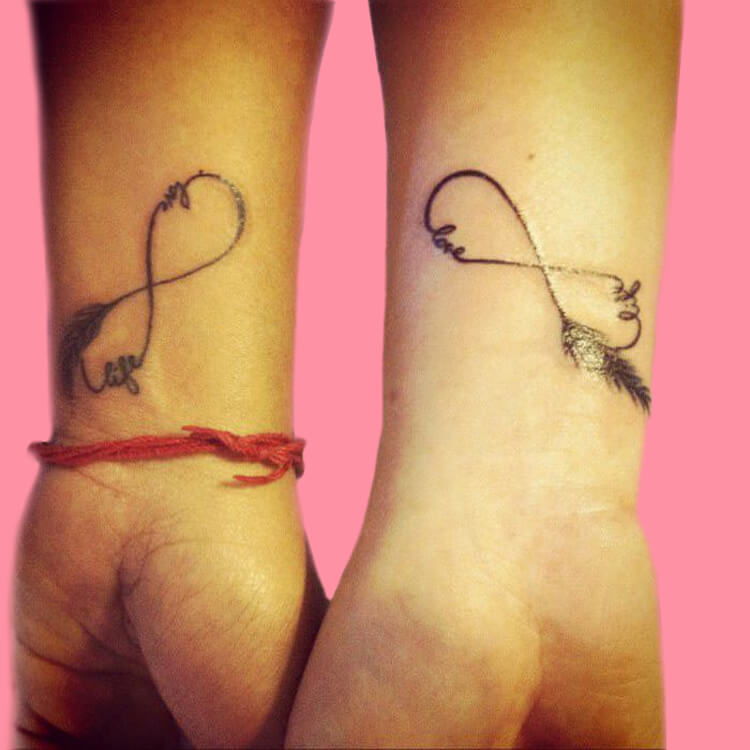 50 Meaningful Matching Couple Tattoo Designs for Lovers to try 4