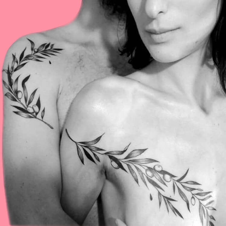 50 Meaningful Matching Couple Tattoo Designs for Lovers to try 40