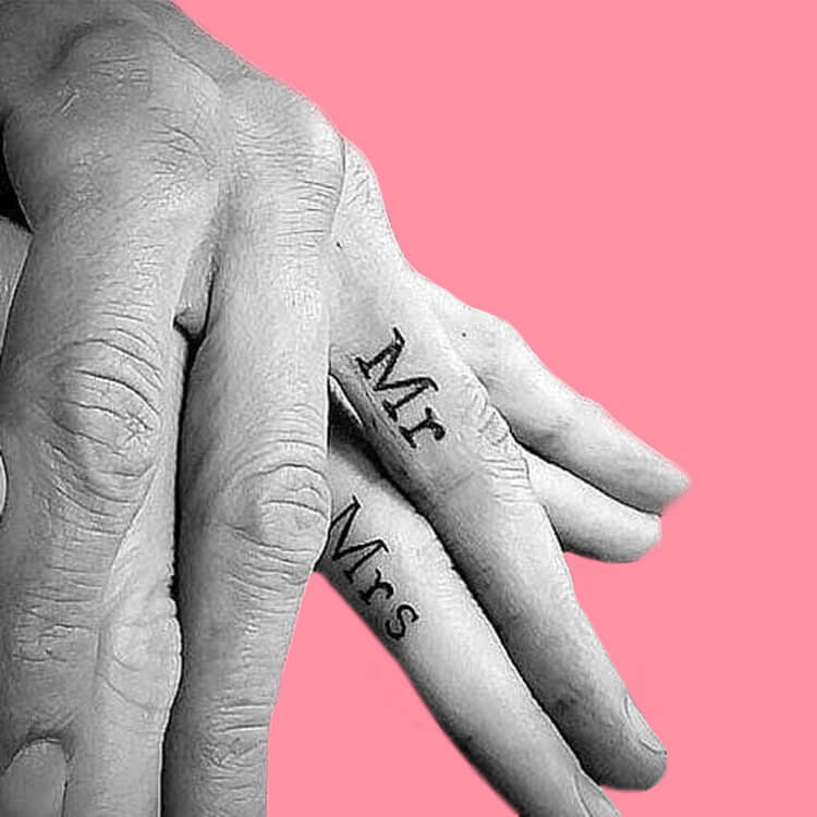 50 Meaningful Matching Couple Tattoo Designs for Lovers to try 42