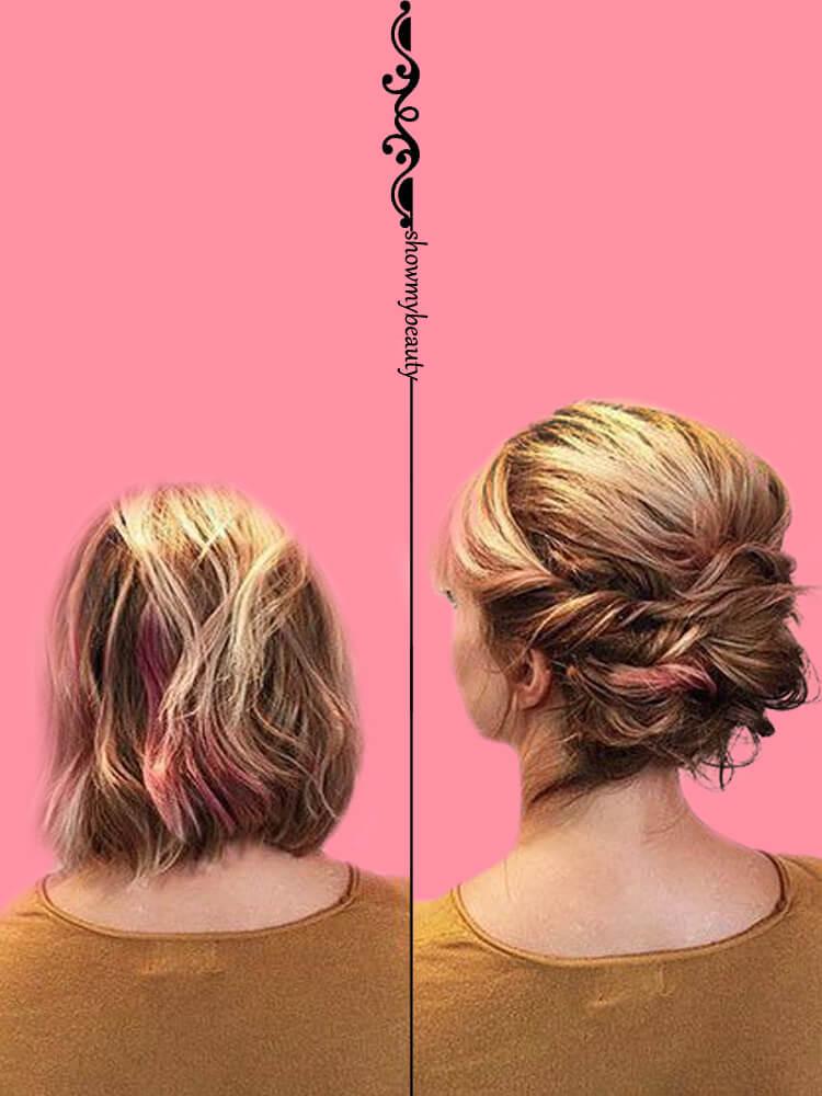 15 Best Wedding Hairstyles for Short Hair 6