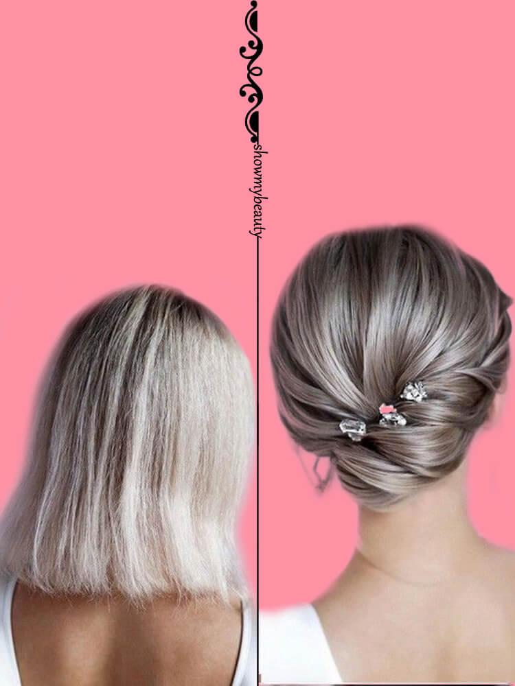 15 Best Wedding Hairstyles for Short Hair 8