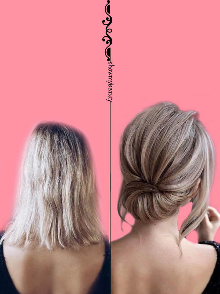 15 Best Wedding Hairstyles for Short Hair 9