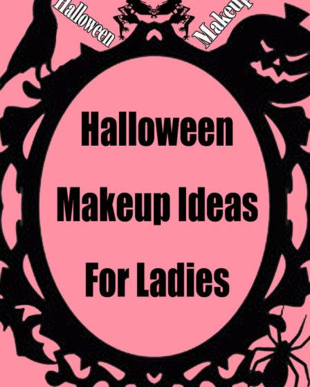 Halloween Makeup Ideas For Ladies