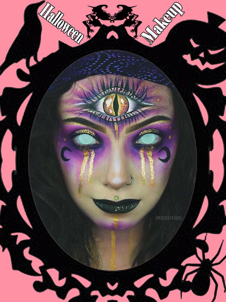 Halloween Makeup Ideas For Ladies S1-1