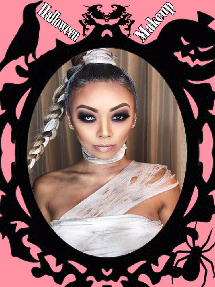 Halloween Makeup Ideas For Ladies S1-11