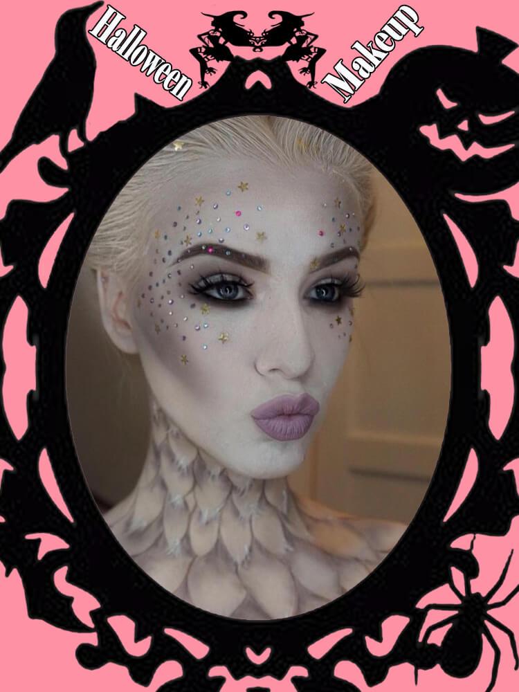 Halloween Makeup Ideas For Ladies S1-12