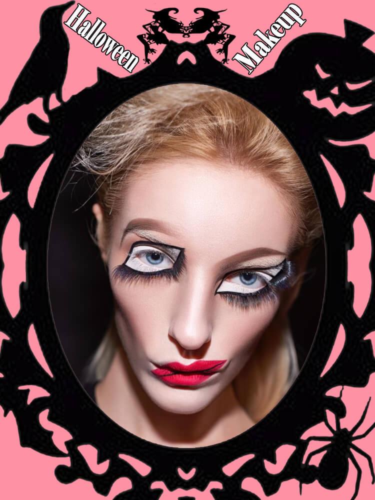 Halloween Makeup Ideas For Ladies S1-13