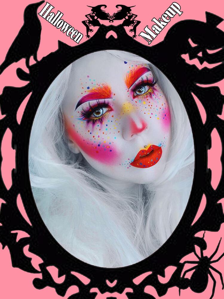 Halloween Makeup Ideas For Ladies S1-15