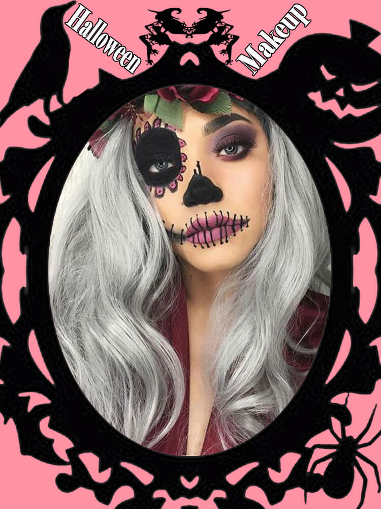 Halloween Makeup Ideas For Ladies S1-18