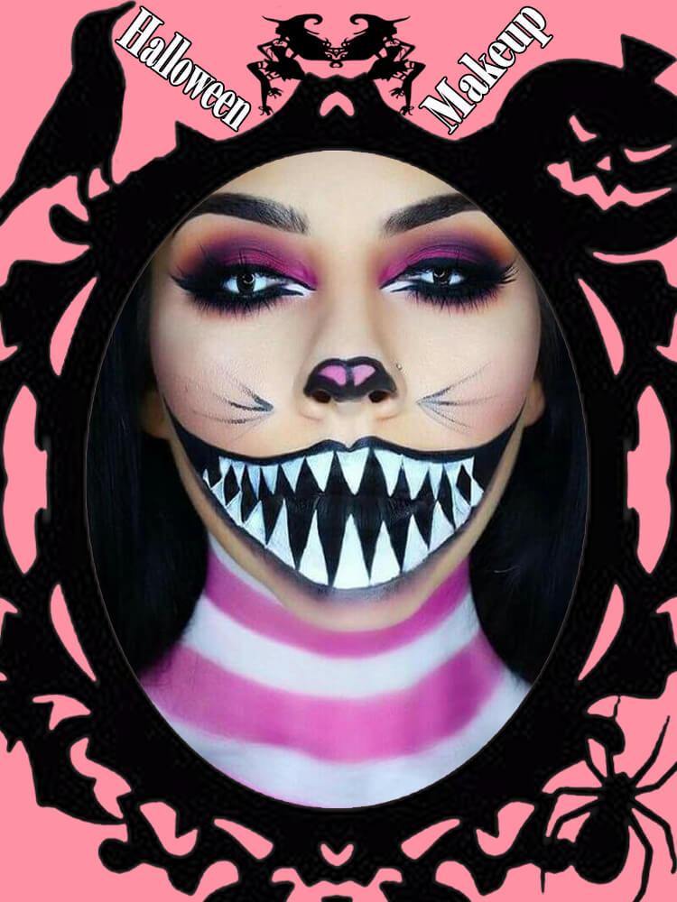 Halloween Makeup Ideas For Ladies S1-19