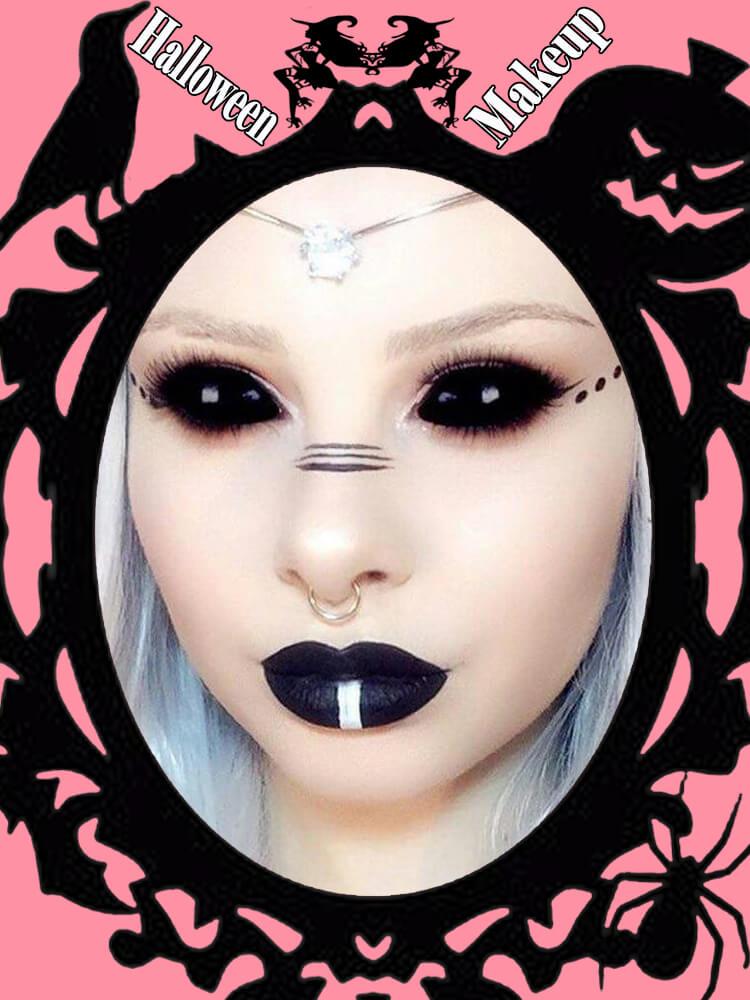 Halloween Makeup Ideas For Ladies S1-20