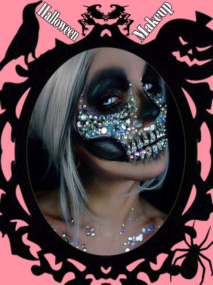 Halloween Makeup Ideas For Ladies S1-22